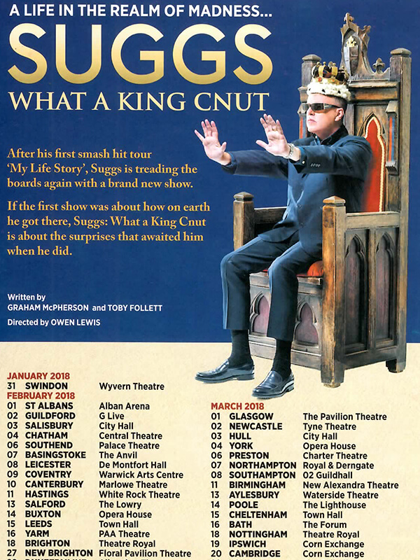 WHAT A KING CNUT