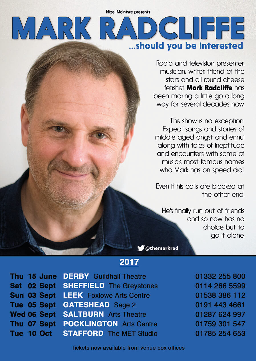 MARK RADCLIFFE ...SHOULD YOU BE INTERESTED